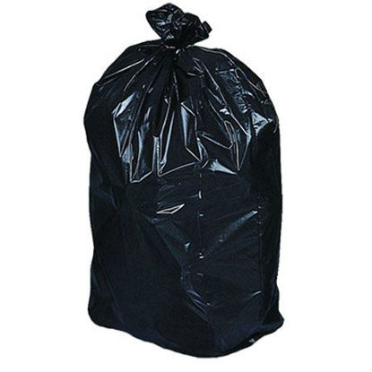Picture of Garbage Bags  35''x 50'' Extra-Extra - Strong Black (100/CS)