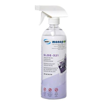 Picture of GLDE-321 - INDUSTRIAL DEGREASER  (Empty bottle)
