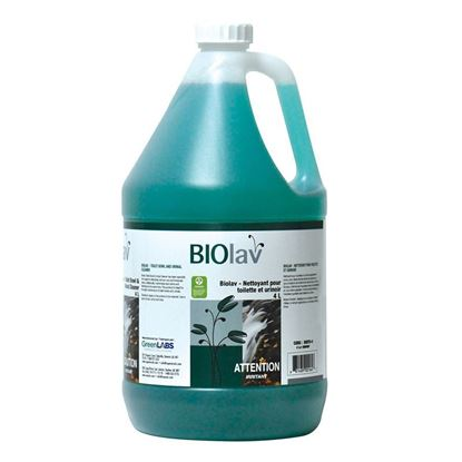 Picture of BIOLAV - TOILET BOWL AND URINAL CLEANER - 4 L