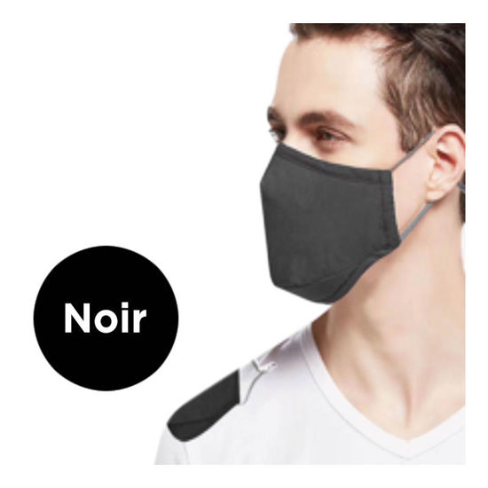 Picture of REUSABLE FACE MASK - BLACK