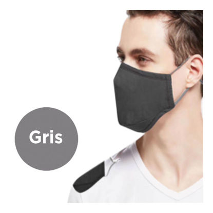 Picture of REUSABLE FACE MASK - GREY