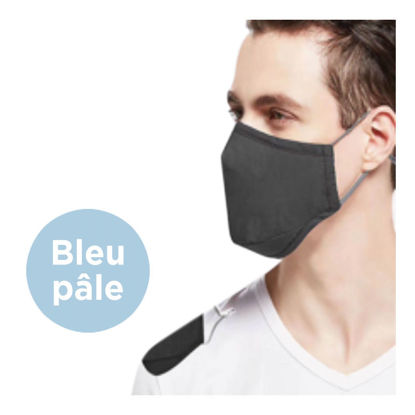 Picture of REUSABLE FACE MASK - LIGHT BLUE