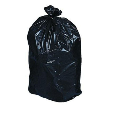 Picture of Garbage Bags 30''x 38'' Extra-Strong Black (125/CS)