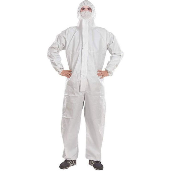 Picture of WHITE PROTECTIVE COVERALL - XXL
