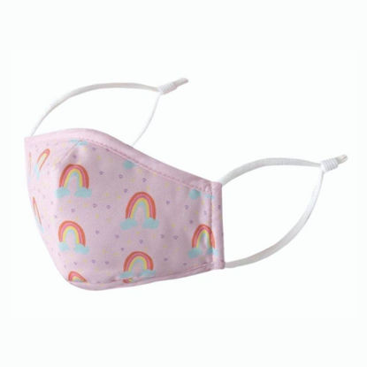 Picture of REUSABLE KID FACE MASK - RAINBOW